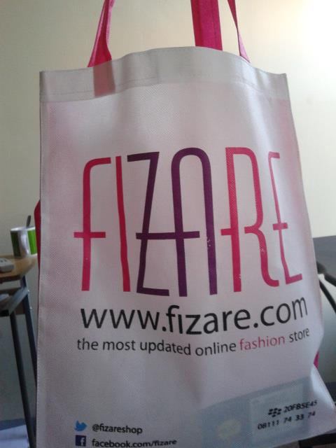 Goodie bag murah pesanan fizare