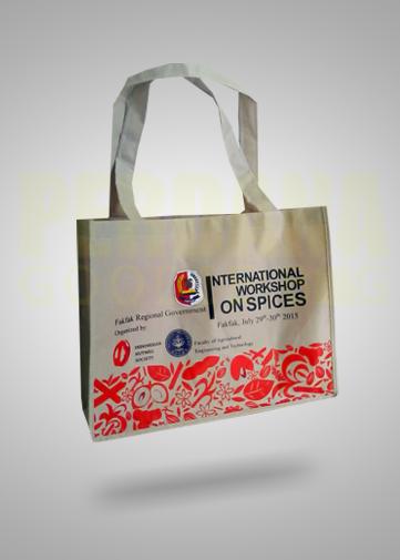 kualitas tas bahan dinir D 420 untuk klien di Fakfak Papua
