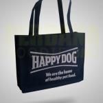 pembuatan tas belanja ramah lingkungan happy dog