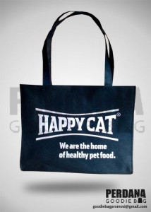 tas promosi spunbond - happy cat