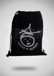 Goodie Bag Serut Ransel Bahan Taslan