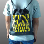 Tas Bahan Spunbond Serut Ransel TTNI Sunter Jakarta Utara