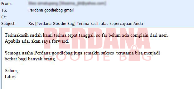 testimoni perdana goodie baglilis noted