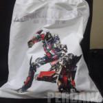 tas ultah transformers - perdana goodie bag