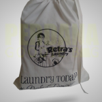drawstring bag custom untuk laundry bag