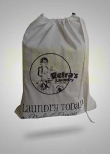 Tas Promosi Laundry Serut Bahan Blacu Di Jakarta Selatan