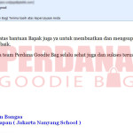 testimoni perdana goodie bag surjani noted