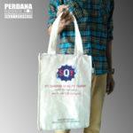 Tas Promosi Blacu Sablon Gradasi Untuk Klien Di Banjarmasin