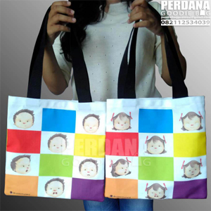 contoh goodie bag bahan kanvas
