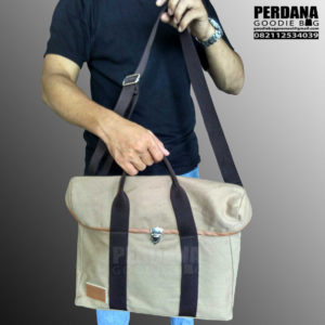 harga goodie bag bahan kanvas custom by perdana