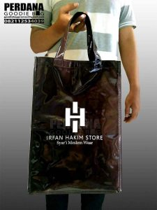 sablon tas bahan spond lack by perdana