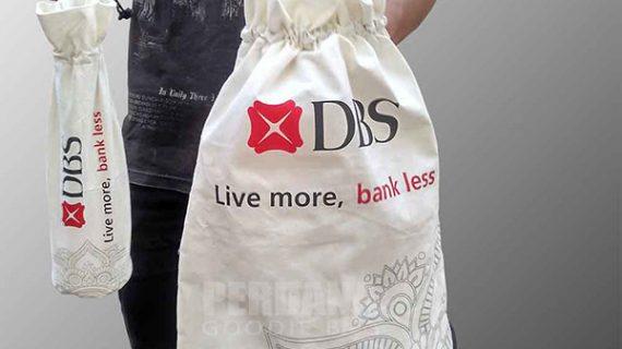 Tas Kain Blacu Untuk Souvenir DBS Di Cidodol