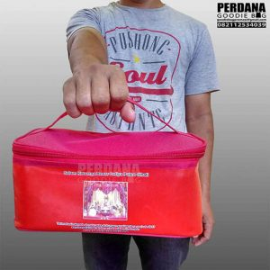 souvenir tas model lunch box printing kalep kombinasi D300 Q3583