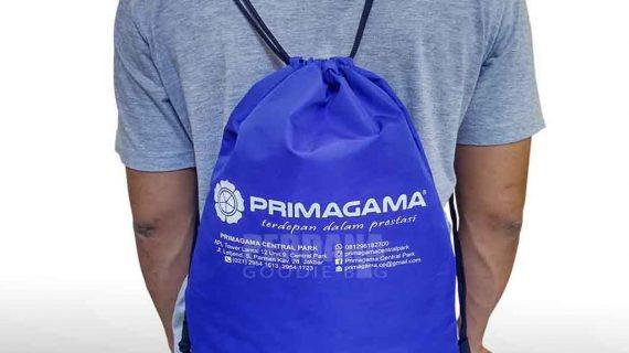 Contoh Drawstring Bag Taslan Primagama Di Central Park Jakarta Barat