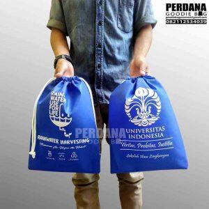 harga pouch serut spunbond rain water di jatiwaringin Q3649