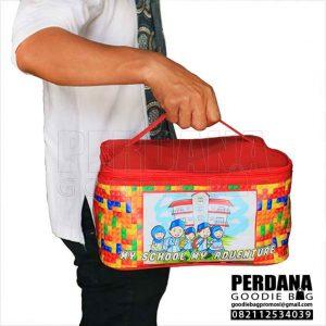 Tas Lunch Box Printing Kalep Untuk Anak di Bintaro Q3835