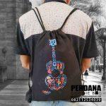 Drawstring Bag Printing Kanvas Klien Cibubur