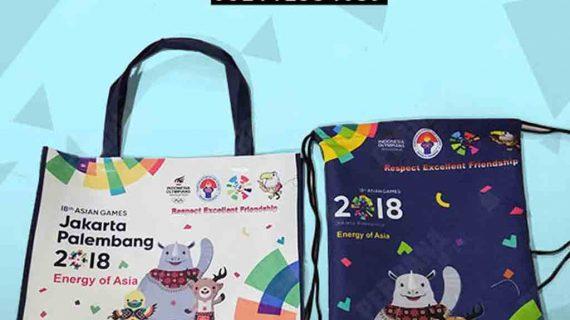 Tas Souvenir Asian Games 2018 Produksi Perdana Goodie Bag