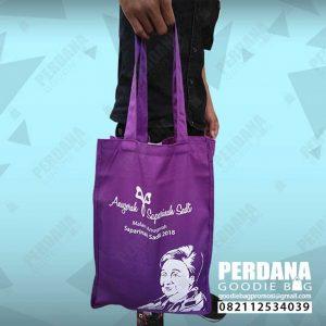 tote bag drill warna ungu saparinah di dharmawangsa id4204