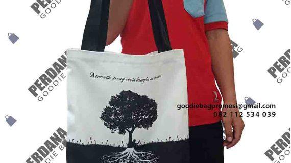 Produksi Tas Souvenir Sekolah Untuk Klien Di Gondangdia Jakarta Pusat