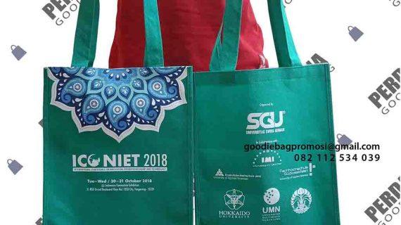 Souvenir Tas Bahan Furing Pesanan Klien Di Alam Sutera Tangerang