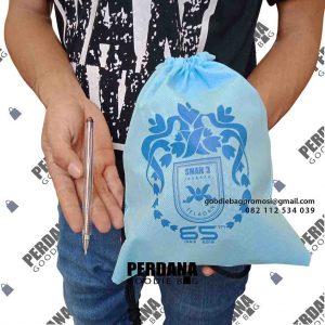 jual pouch serut murah untuk sekolah di jakarta selatan by Perdana id4426