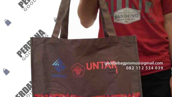Tas Souvenir Kanvas Jinjing Kampus Project Di Tanjung Duren Utara