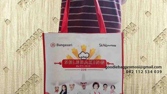 Buat Tas Full Printing Promosi PT Bunga Sari Jakarta Selatan