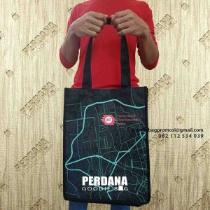 contoh tas digital printing street map by Perdana id4664