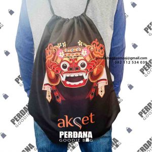 contoh drawstring bag printing by Perdana Goodie Bag