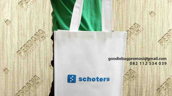 Contoh Tas Untuk Promosi Jinjing Gedung Nano Center Indonesia Pamulang