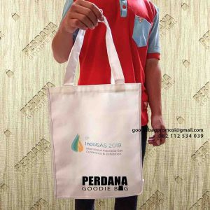 contoh tote bag bahan kanvas printing by Perdana id5035