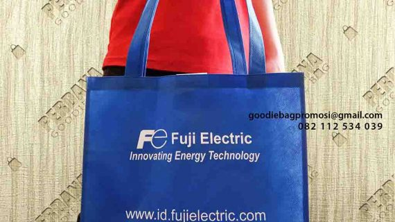 Contoh Tote Bag Spunbond Fuji Electric Indonesia Sudirman