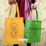 Tas Bahan Spunbond Sablon Untuk Klien Di Jl. Ir. Haji Djuanda Sentul Bogor