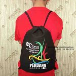 Drawstring Bag Canvas Kirim Ke Hotel Winstar Pekanbaru