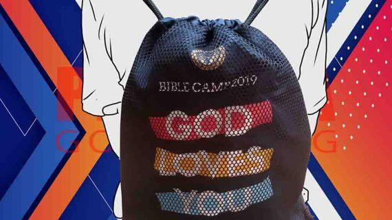 Harga Drawstring Bag Custom Untuk Klien Di BSD Tangerang