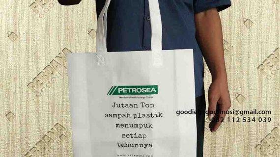 Contoh Tas Spunbond Press Pesanan Klien Di Kariangau Balikpapan Barat