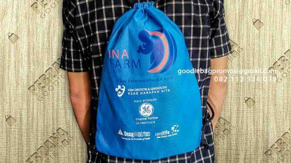 Gambar Goodie Bag Bahan Anti Air Kirim Ke RSAB Harapan Kita Slipi Jakarta Barat