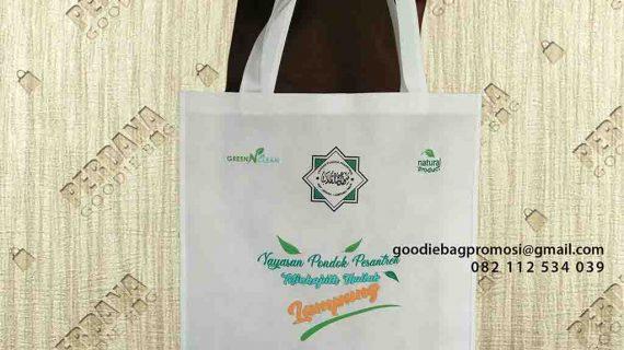 Produksi Model Tas Untuk Souvenir Pesantren Labuhan Ratu Baru Lampung Timur