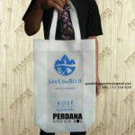 Perdana Goodie Bag Produksi Tas Bahan Spunbond Press 30 x 40 Putih Express Untuk Klien Di Jl. Cideng Timur Jakarta Pusat