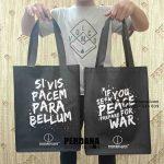 Buat Model Tas Souvenir Kain Furing Hitam Klien Di Jl Ampera Raya Jakarta Selatan