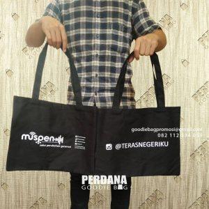 Tote Bag Kanvas Model Jinjing Kirim Klien Cengkareng Jakarta Barat id6082P