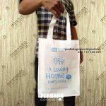 Tas Goodie Bag Bahan Spunbond SOS Children's Villages Jatipadang Utara Pasar Minggu Jakarta