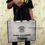 Tas Goodie Bag Spunbond Desain Sablon Kirim Harapan Mulya Medan Satria Kota Bekasi
