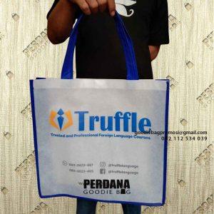 Jual Goodie Bag Bahan Spunbond Desain Sablon Baranangsiang Bogor Timur Id7769P