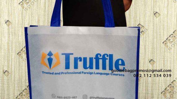 Jual Goodie Bag Bahan Spunbond Desain Sablon Baranangsiang Bogor Timur