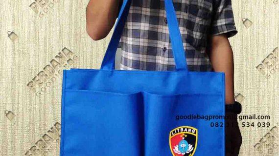 Tas Goodie Bag Jinjing Bahan Dinir Puslitbang Polri Bojong Gede Bogor