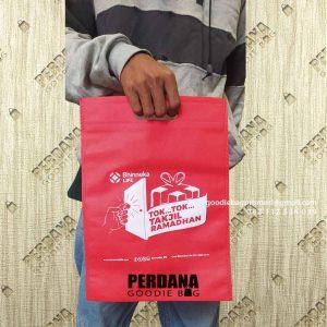 Goodie Bag Spunbond Press Sablon Klien Jendral Sudirman Setiabudi Jakarta ID8325P