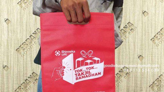 Goodie Bag Spunbond Press Sablon Klien Jendral Sudirman Setiabudi Jakarta