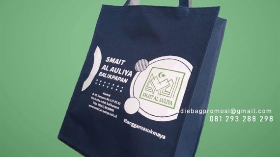 Jual Goodie Bag D300 Sablon SMAIT Al-Auliya Balikpapan Kalimantan